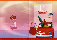 folder postale fiat 500 made in italy -2007