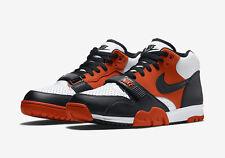 "Mens Nike Air Trainer I Mid ""Halloween"" SZ 8 Team Orange White Black 317554-800"