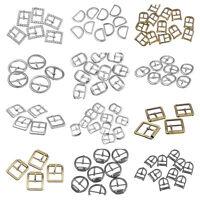 Taschen Metall Schnallen Ersatzschnalle Buckles für Taschen Schuhen Silber G/S