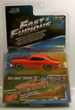 1970 '70 CHEVY CHEVELLE SS DOM'S FAST & FURIOUS MOVIE CAR JADA DIECAST 1:55 2016
