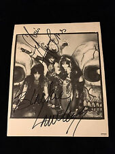 Blackie Lawless and Chris Holmes W.A.S.P. Signed Photo