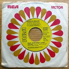 GROOVIE GOOLIES 45 Save your good lovin for me RCA promo HALLOWEEN pop   c1311