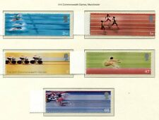s3154) UK GREAT BRITAIN 2002 MNH** Commonwealth games 5v