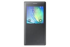 Samsung Ef-ca700bcegww S-view Flip Cover per Galaxy A7 - Nero