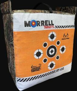 New Morrell Rt-450 Bag Target With Camo Edge Target