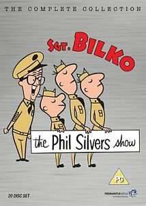 THE PHIL SILVERS SHOW- COMPLETE COLLECTION (20 DISC SET)