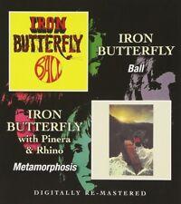 IRON BUTTERFLY - BALL/METAMORPHOSIS  CD NEUF