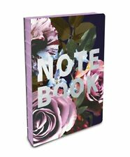 Studio Oh! Floral coptic bound notebook wjith silver foil #CB021