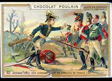 IMAGE CHROMO CHOCOLAT POULAIN / GUERRE / MORT du MARECHAL NEY