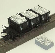 042 H0 Ladegut für Märklin Behältertragwagen Bt 10 48949, 48943, Lahnsplitt, OVP
