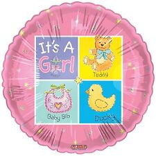 It's A Girl New Baby Foil Balloon Pink 18""