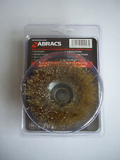ABRACS - 75mm CRIMPED WIRE CUP BRUSH