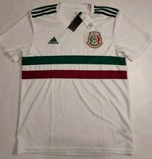 $90 Adidas Mexico 2018 2019 Jersey Away Men's L BQ4689 World Cup Original NWT
