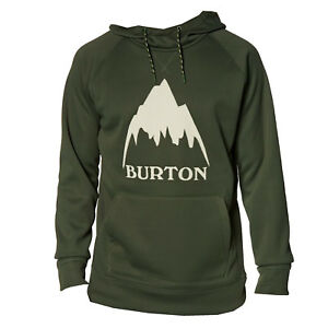 BURTON Mens 2019 - CROWN BONDED PULLOVER HOODIE - Forest Night