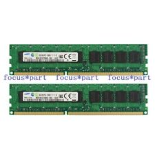 16GB 2x8GB DDR3 1333 1333Mhz 2Rx8 PC3-10600E ECC Unbuffered UDIMM Memory RAM