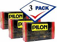 Cafe Pilon Gourmet Espresso Roast Coffee  3 Pack 10 Oz