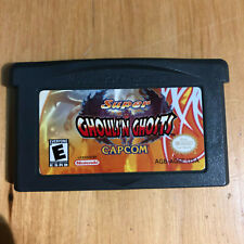 GBA Gameboy Advance Game - Super Ghouls n Ghosts RARE
