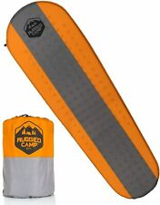 Self Inflating Sleeping Pad - Foam Camping Mat is 1.5 Inches Thick Air Mattress