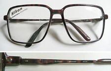 Nikon Carbomax Japan NK 4253 marrone occhiali montatura vintage 1980s