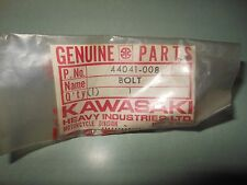 NOS Kawasaki KH100-B7 BOLT STEERING STEM # 44041-008