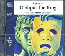 Sophocles Oedopus the King  audio drama CD NEW