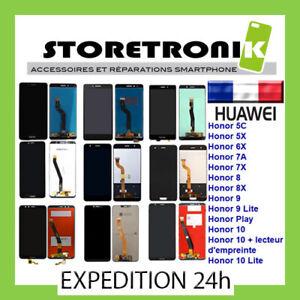 ÉCRAN LCD TACTILE HUAWEI HONOR 5C/ 5X/ 6X/ 7A/ 7C/ 7X/ 8/ 8A/ 8X/ 9/10 LITE PLAY