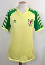Vintage Gales 1983 Adidas jugador lejos Camiseta No.15 Excelente Estado