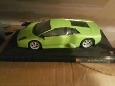 Green Lamborghini Murcielago - 2001 Hotwheels - 1:18 Scale