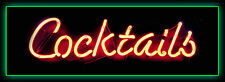 COCKTAIL RETRO CAFE PUB HOTEL,WINE BAR,MANCAVE,HOME DECOR, LARGE METAL SIGN