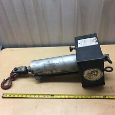 GE Co. Air Cylinder Hoist Lift Or Push Down Clamp With Speed Control Dial
