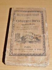 HEUZE Manuel RORET Constructions Agricoles ARCHITECTURE AGRICULTURE Illustr 1876