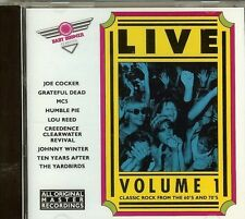 BABY BOOMER CLASSICS LIVE VOL. 1 -VARIOUS ARTISTS - CD - NEW