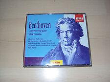 coffret 3 CD  BEETHOVEN concerto pour piano triple concerto