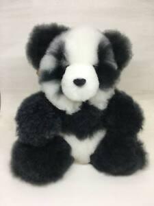 """Alpaca Fur Panda Bear 9"""""""