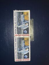 USA Stamp First Man On The Moon 10c Paair