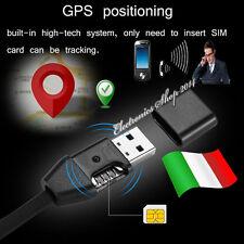 Localizzatore satellitare GPS Cimice Spia GSM ascolto ambientale USB nascosto