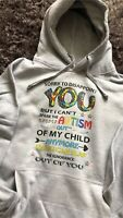 Autism Awareness Sorry To Disappoint Unisex Grey Autistic Inclusion Hoodie
