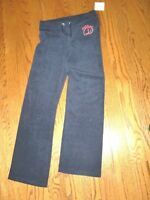 NWT Girls~JUICY COUTURE~Navy Blue Logo Terry Sweat Pants~SIZE L(12-14)~CUTE~