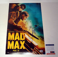 GEORGE MILLER DIRECTOR MAD MAX SIGNED AUTOGRAPH MOVIE POSTER PSA/DNA COA #2