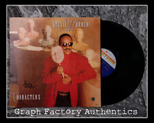 GFA Characters Vinyl * STEVIE WONDER * Signed Record Album S1 PROOF COA