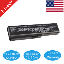 Laptop Battery for Toshiba PA3817U-1BRS 10.8V Li-ion 48WH 6 Cell Computer Parts