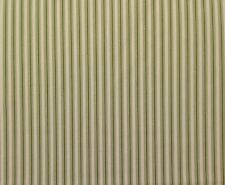 """MAGNOLIA HOME COTTAGE STRIPE JUNGLE GREEN  COTTON TICKING FABRIC BY YARD 54""""W"""