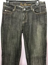 Guess Jeans Size 27 Jeans Venice Denim Black Faded Wash Straight Bootcut BU26