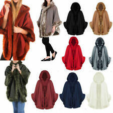 Unbranded Faux Fur Outer Shell Cape Coats, Jackets & Waistcoats for Women