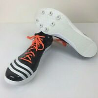 Adidas Adizero Spikes Shoes Mens Size 15 Black Running Shoes
