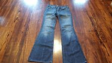 Seven for all Mankind Flare Women's Jeans Size 25 25 x 31 Zipper Fly