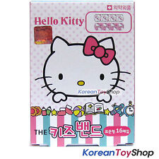 Hello Kitty Band Aid Adhesive Bandages Plasters 1 Box 16 Pads Standard Type