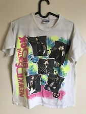 Vtg 1989 New Kids On The Block Tour Band T Shirt Medium Single Stitched