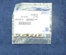 PONTIAC V6 H.O. FRONT FENDER EMBLEM NOS #22602307