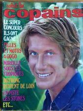 Salut les copains - n°80 - 1969 - Dutronc, Cloclo, Mireille Mathieu, Stones, ...